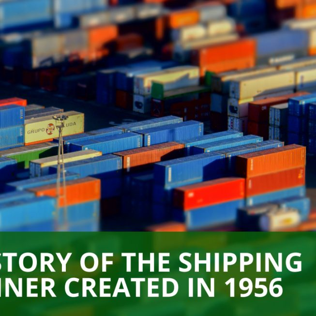 History of the shipping container