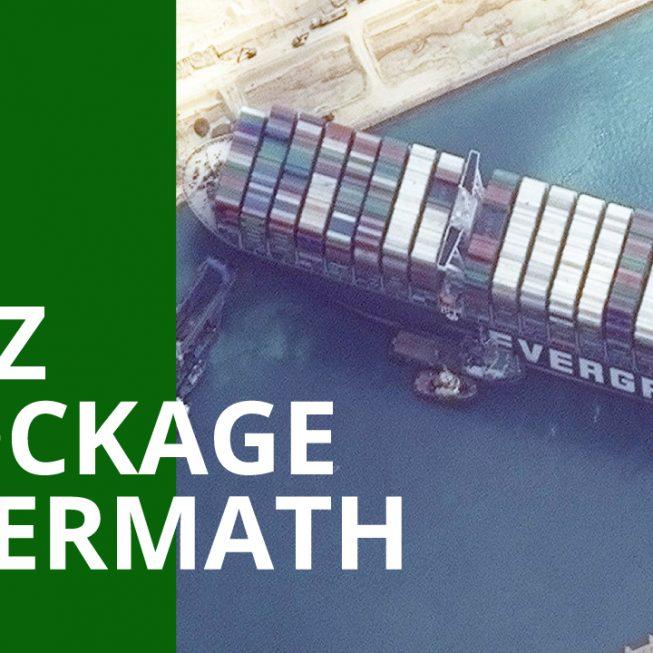 shipping detour post suez blockage