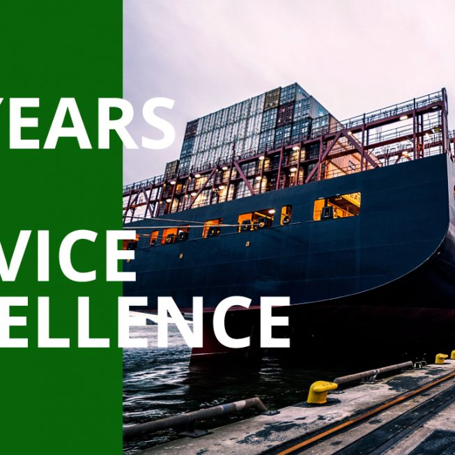 29 years of service excellence